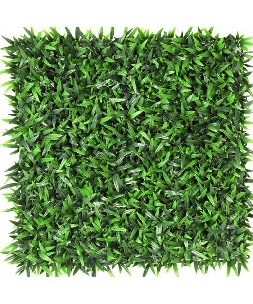 Plaque artificielle herbes folles