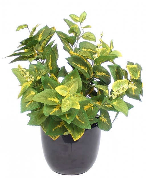 Tige d'hortensia artificielle rose 80 cm