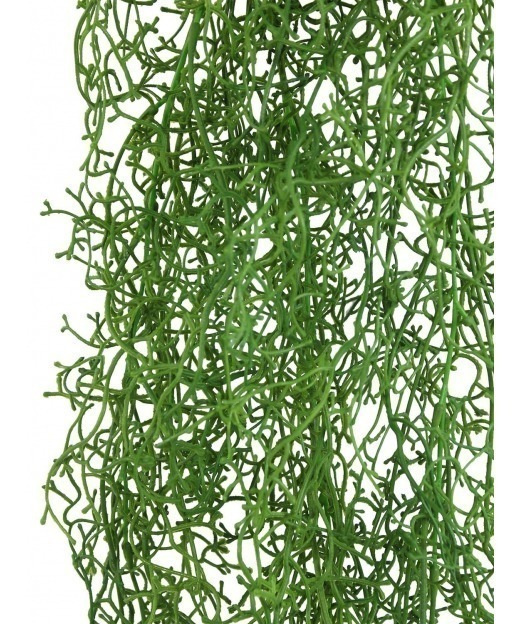 Rose de damas artificielle 65 cm