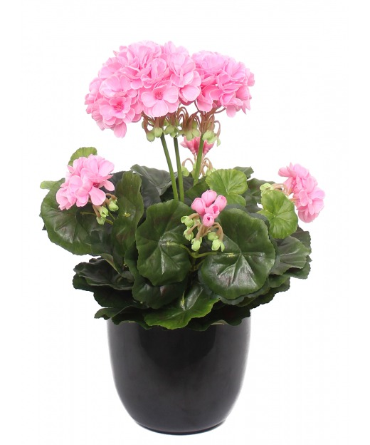 Géranium rose artificiel