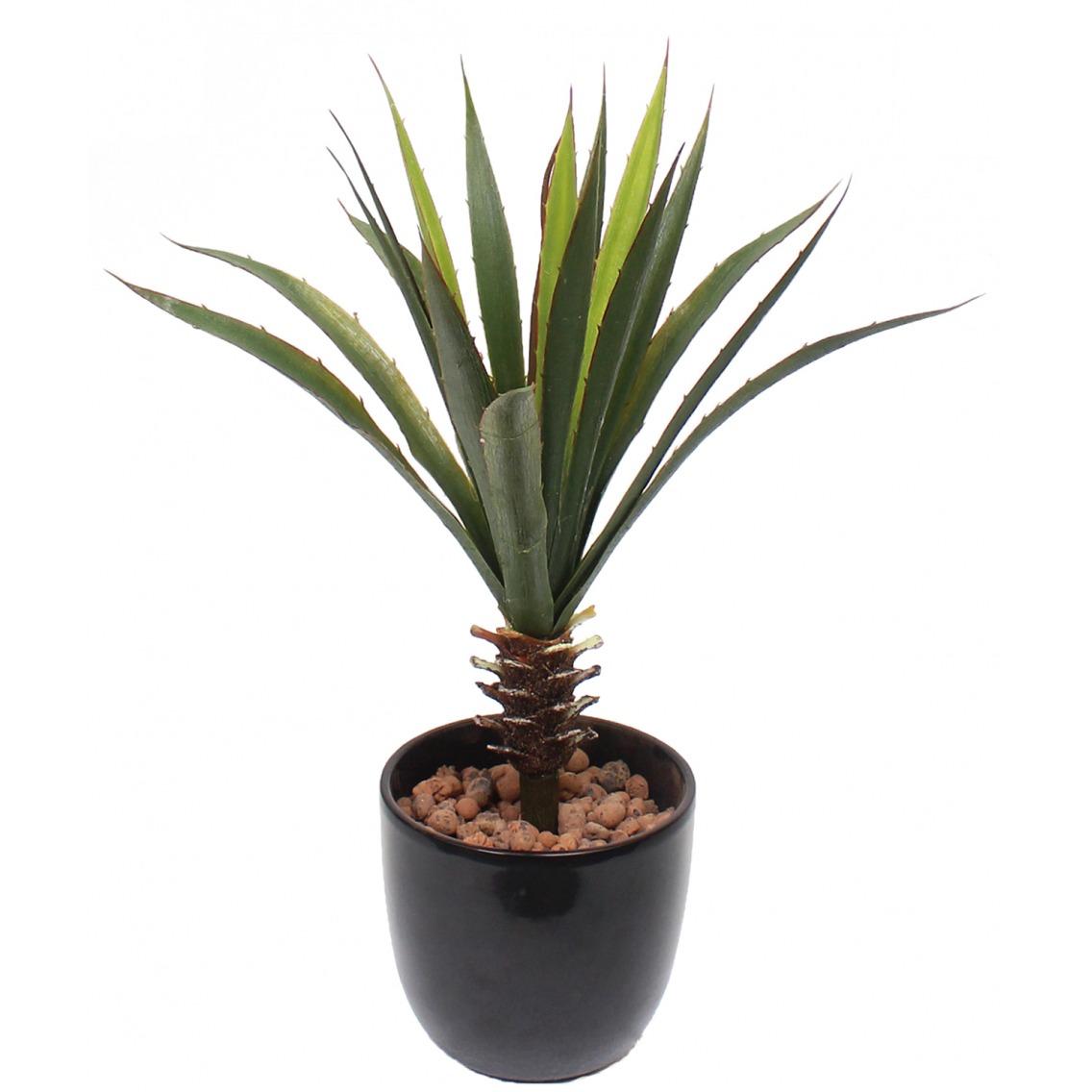 Aloe vera artificiel sur piquet