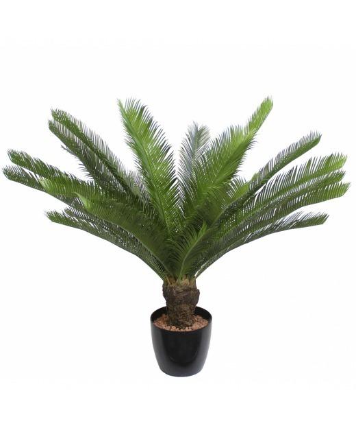 Cycas artificiel à grandes palmes