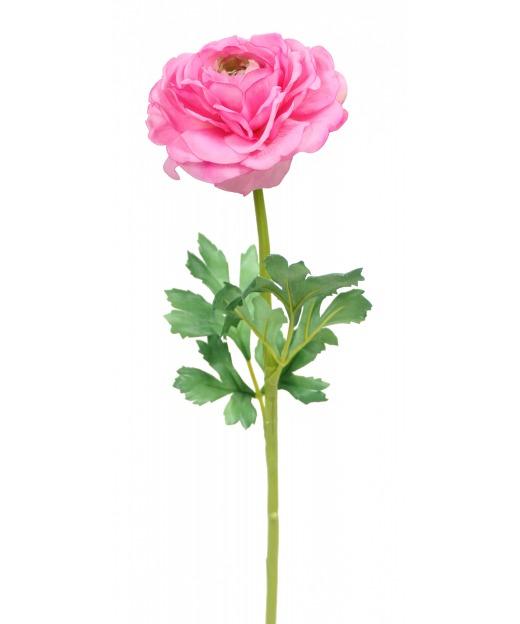 Renoncule artificielle rose
