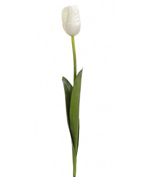 Tulipe artificielle blanche