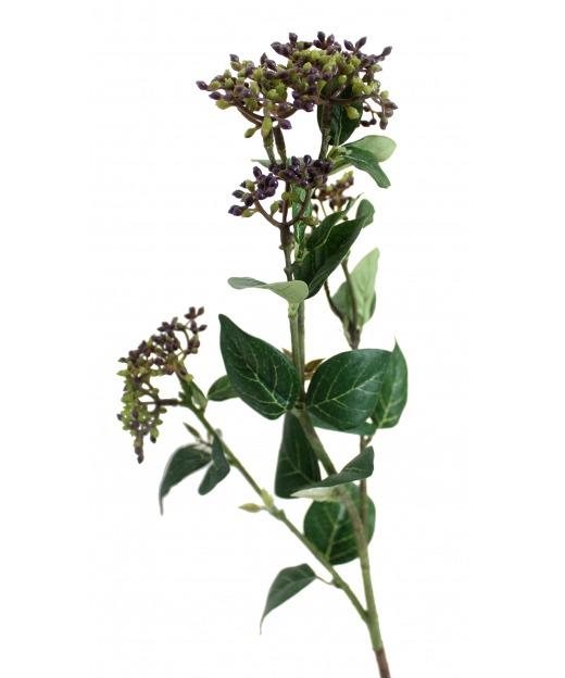Chute de scindapsus pictus artificielle 75 cm