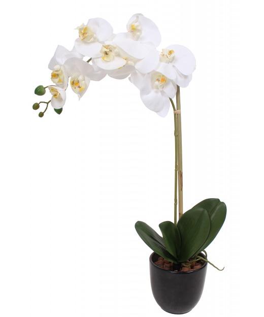 Hortensia artificiel rose 40 cm