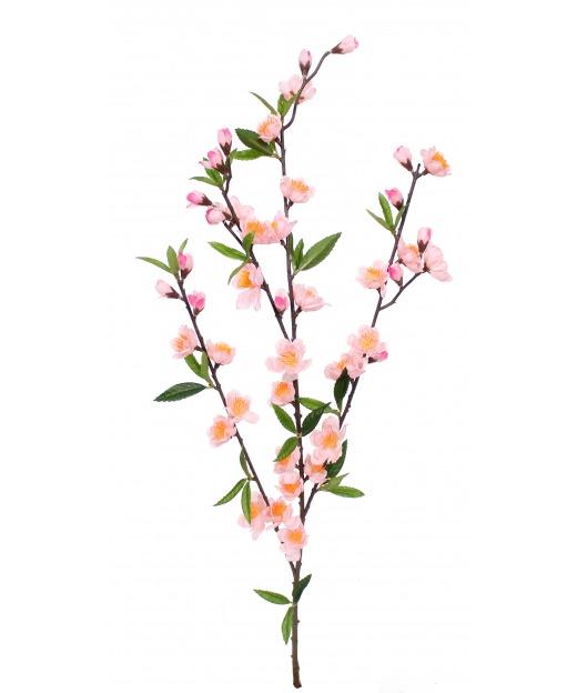 Tige de cerisier artificiel rose