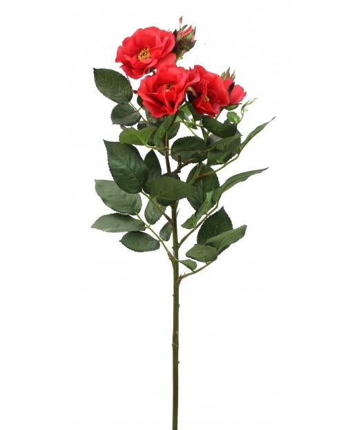 Branche de roses artificielles