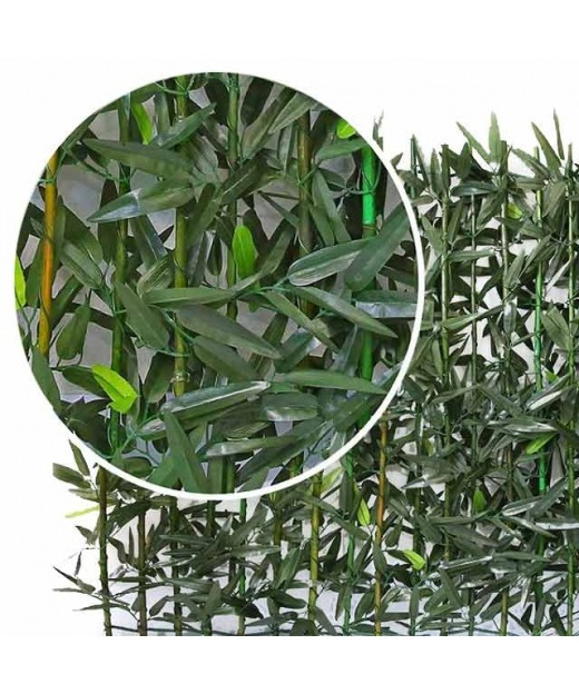 Haie de bambou artificielle 100 cm