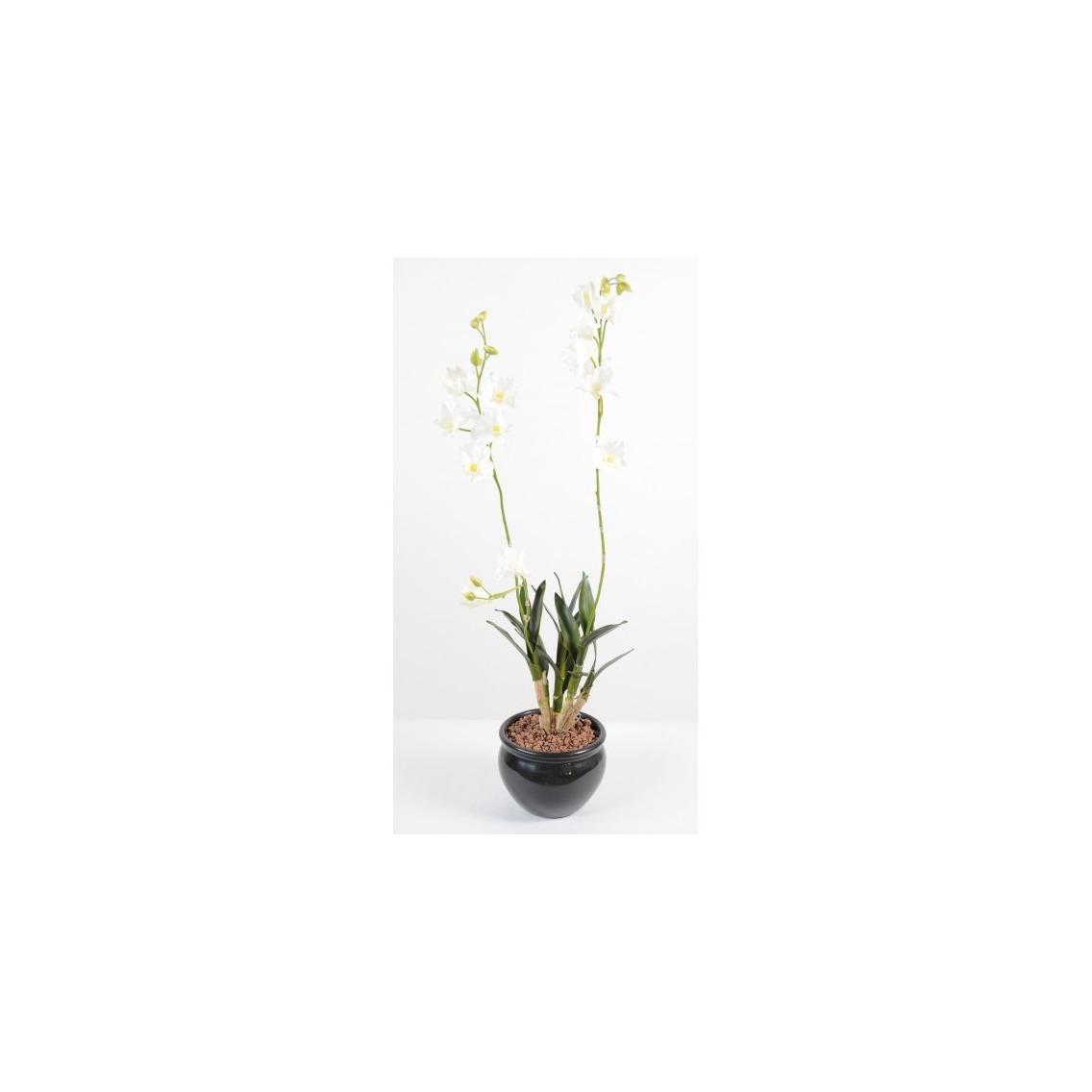 Dendrobium artificiel blanc