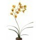 Cymbidium artificiel fleuri