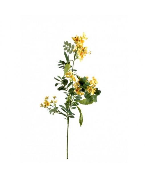 Branche d'acacia fleurie 55 cm