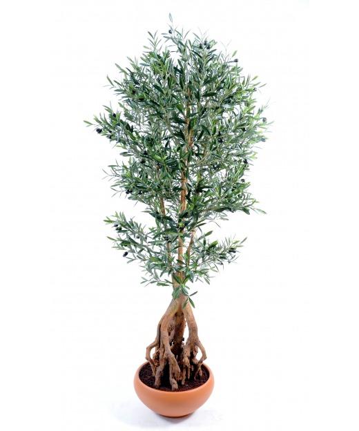 Olivier artificiel racines 175 cm