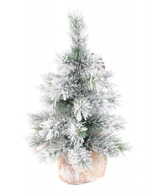 Mini sapin artificiel enneig 35 cm arbres de no l artificiels artiplantes - Mini sapin de noel artificiel ...
