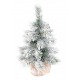 Mini sapin neige artificiel