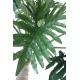 Philodendron artificiel géant