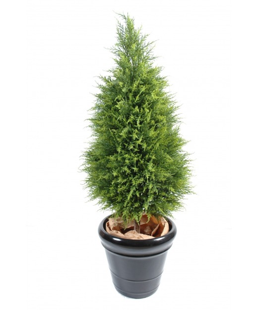 Cyprès artificiel juniperus 135 cm