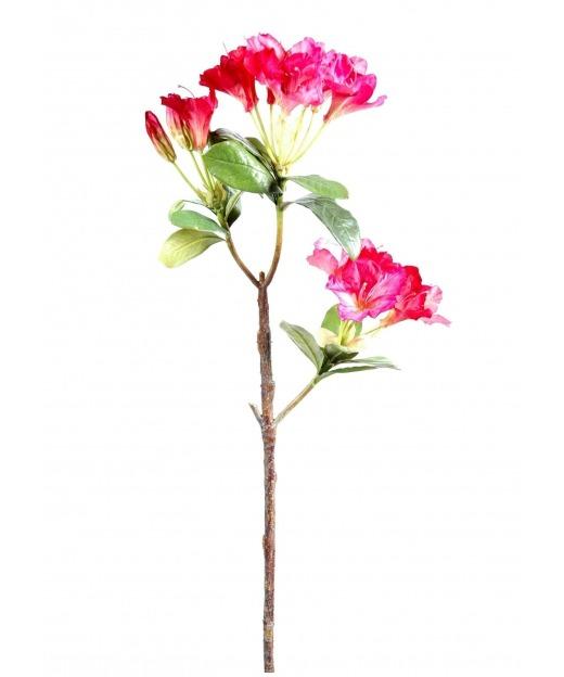 Fleur d'azalée artificielle 75 cm
