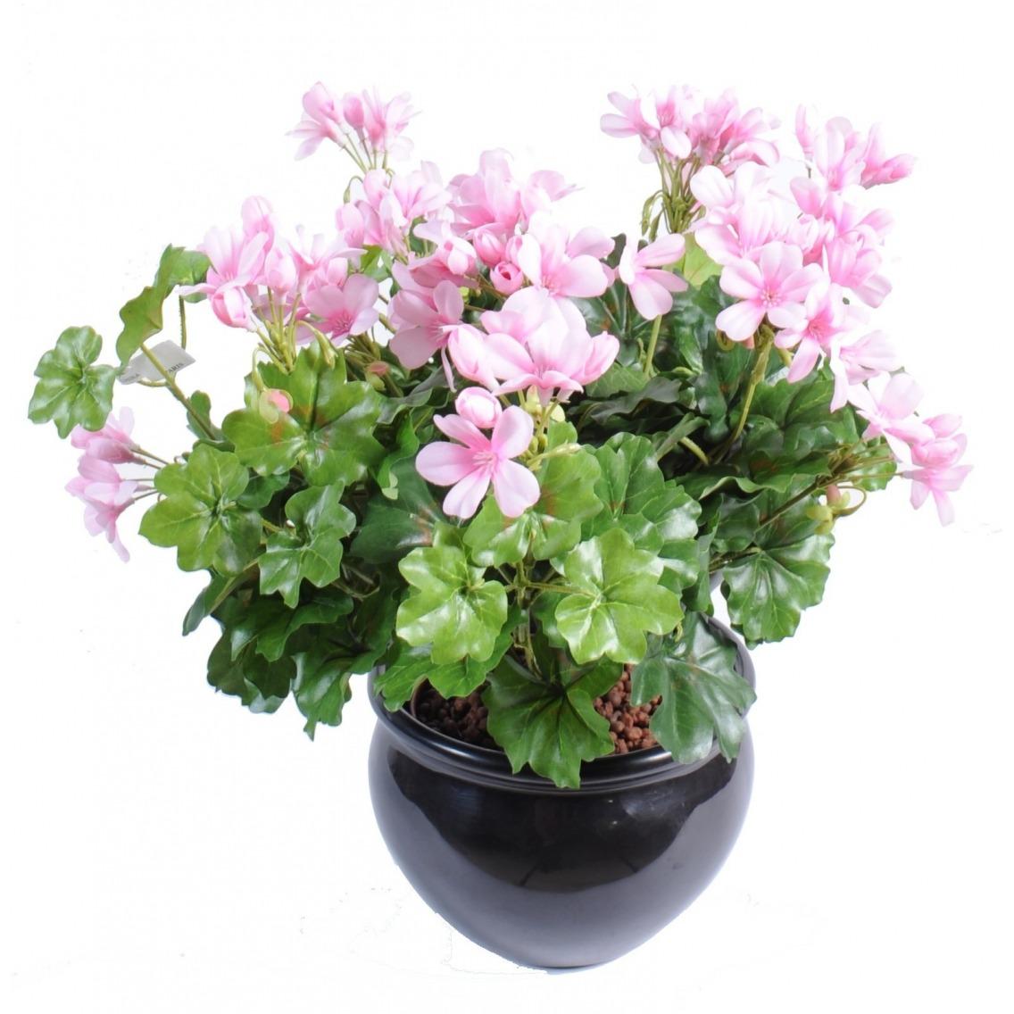 Géranium artificiel rose