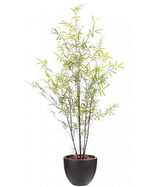 Bambou artificiel feuillage renforcé 170 cm
