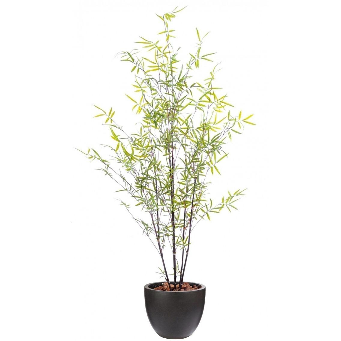 Bambou artificiel clairsemé