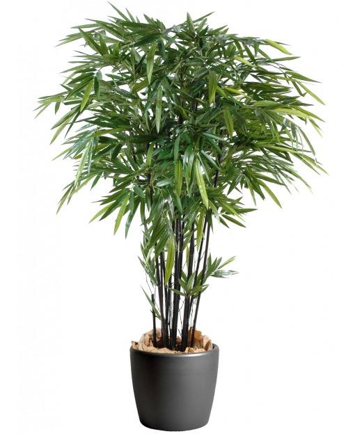 Bambou artificiel à feuilles longues 160 cm