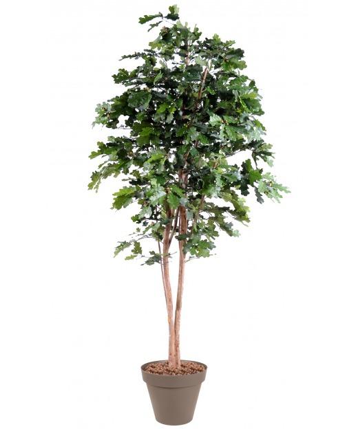 Chêne artificiel longiforme 230 cm
