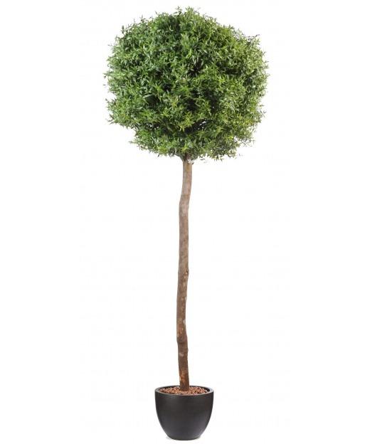 Eucalyptus artificiel sur tige 110 cm