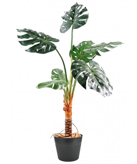 Philodendron artificiel sur tige 120 cm