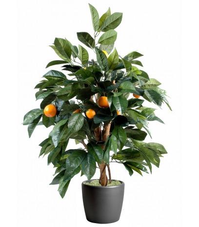Oranger arbuste artificiel