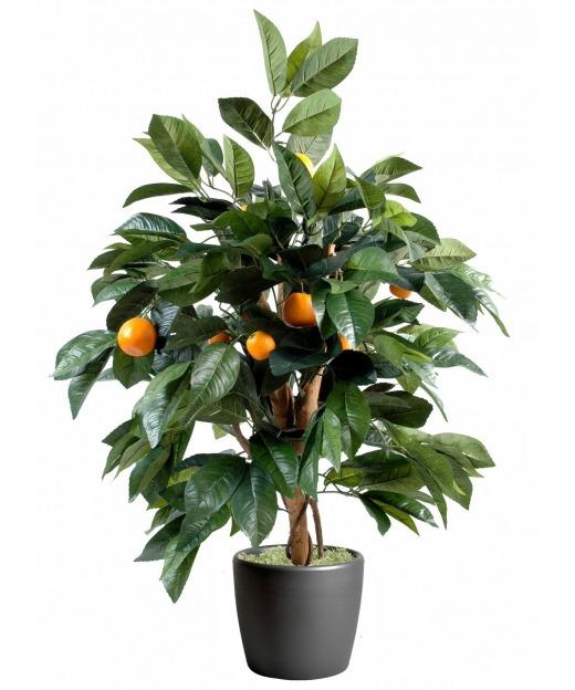 Oranger arbuste artificiel 80 cm