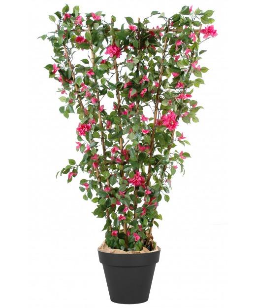 Palissade de bougainvillée artificielle fleurie 150 cm