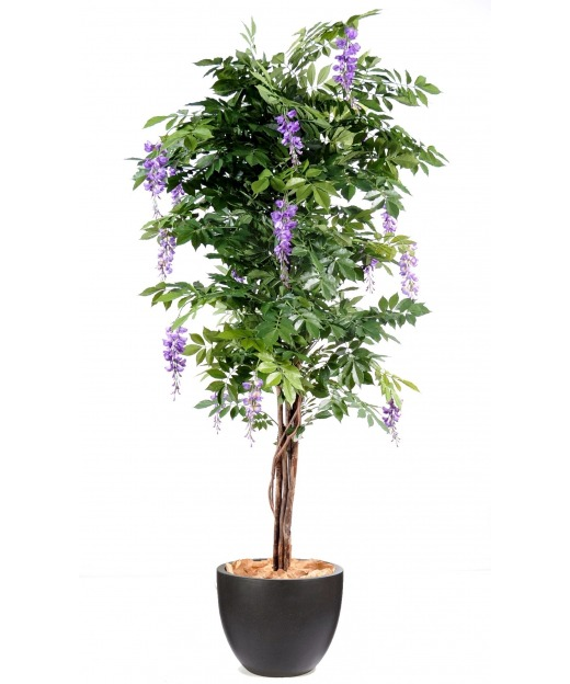 Glycine parme artificielle 65 cm