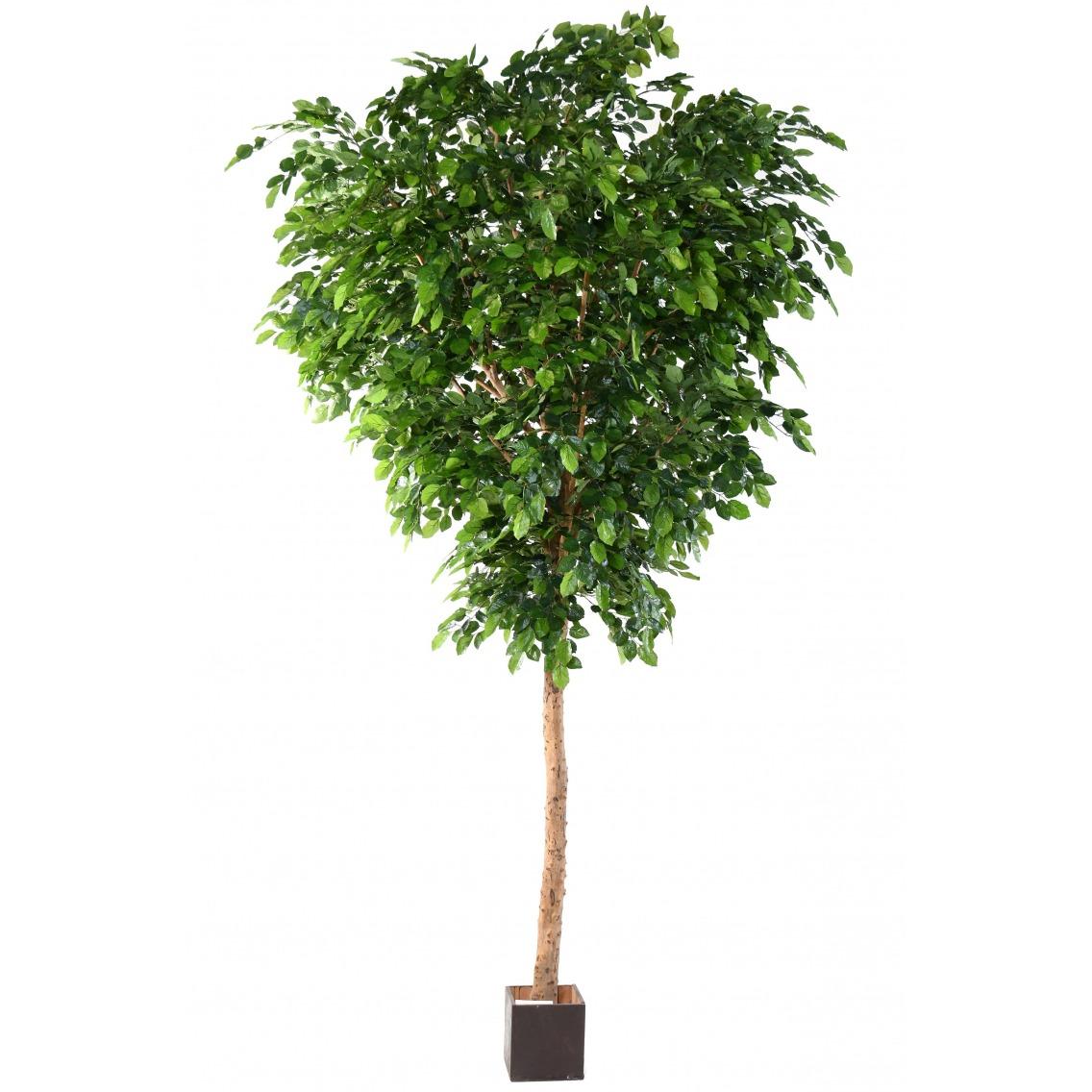 Grand hêtre artificiel vert