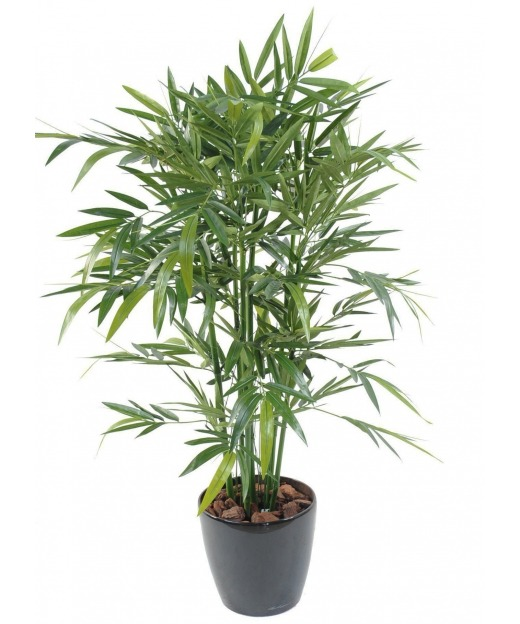 Bambou artificiel vert multi-cannes 80 cm
