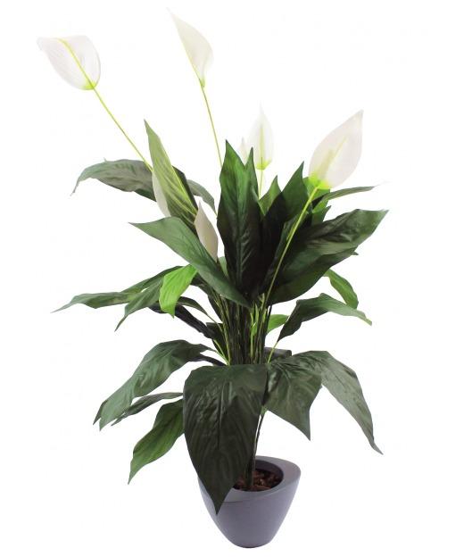 Spathiphyllum artificiel wallis 100 cm