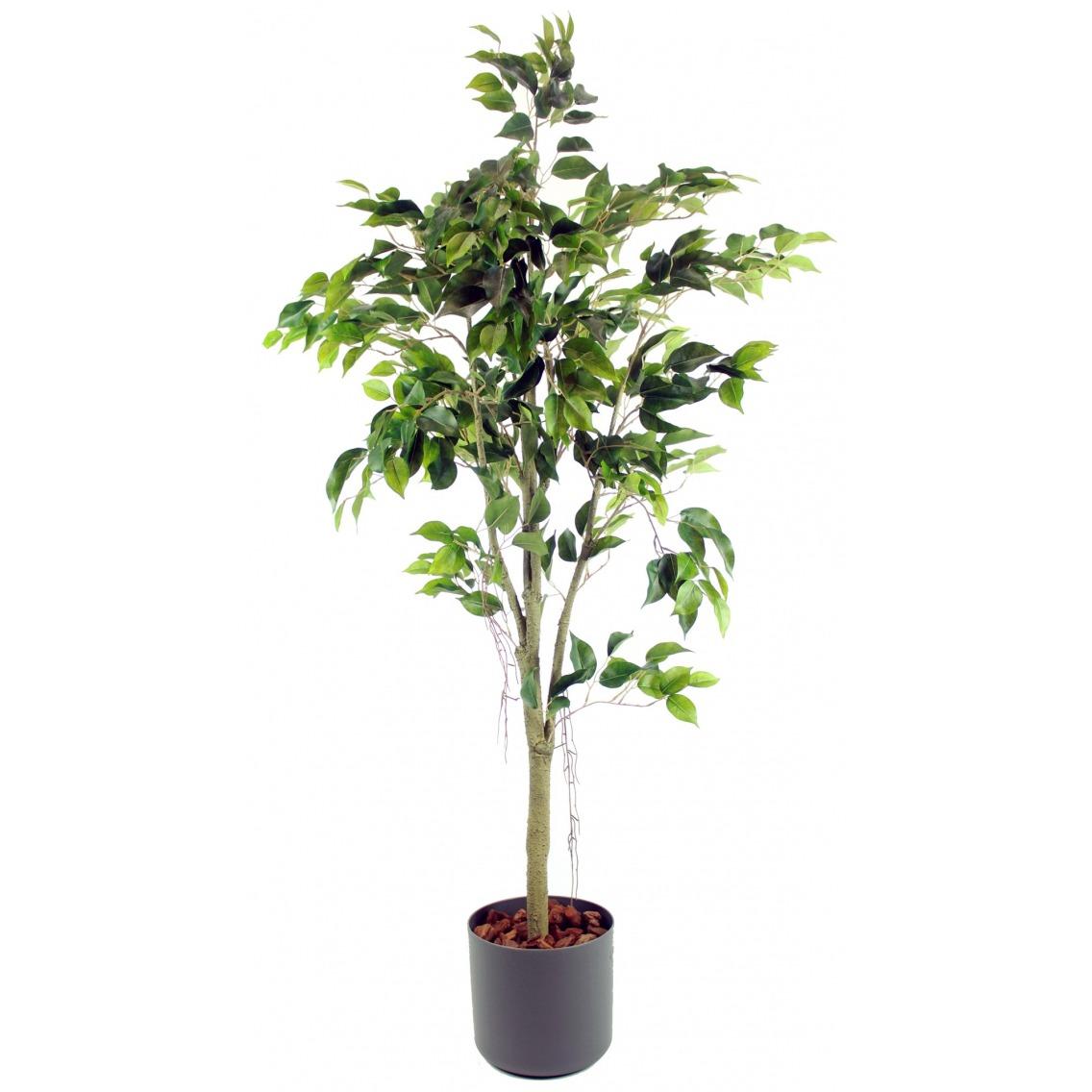 Ficus artificiel tronc blanc