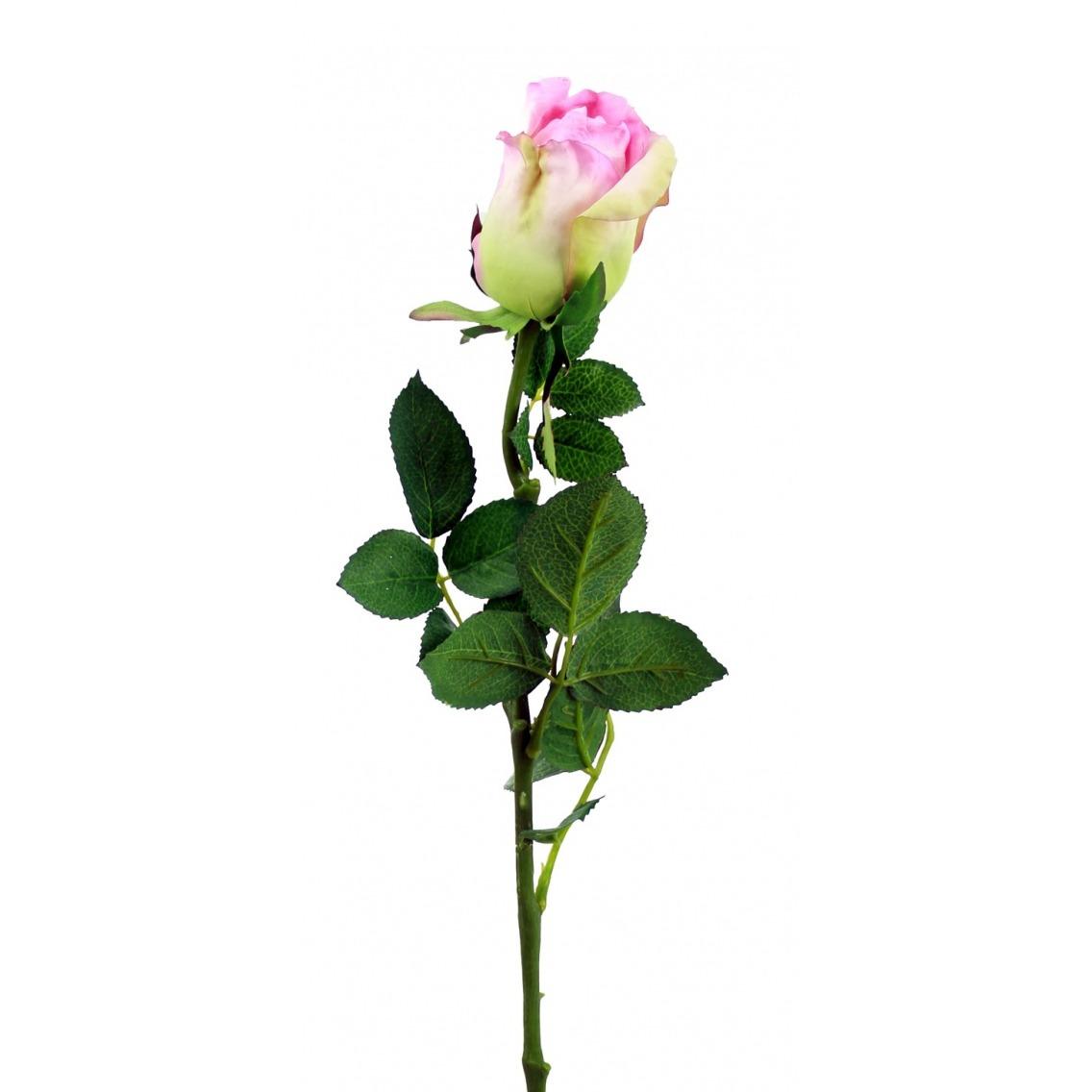 Rose artificielle céleste
