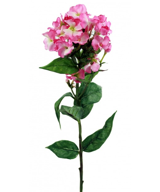 Phlox artificiel rose 70 cm