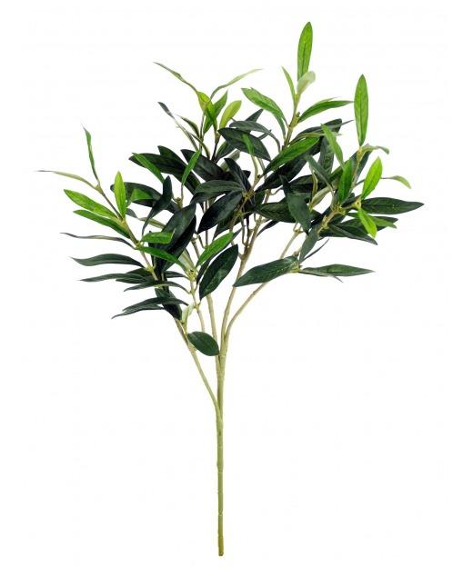 Branche d'olivier artificiel 50 cm