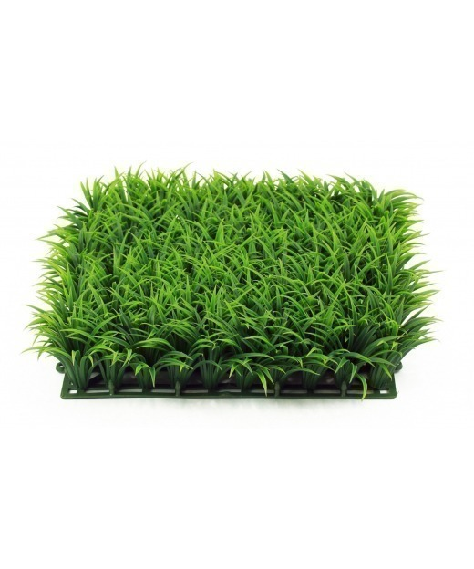 Herbe en plaque artificielle 5 cm