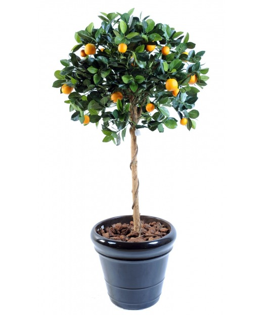 Oranger artificiel buisson 125 cm