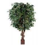 Ficus artificiel géant lianes