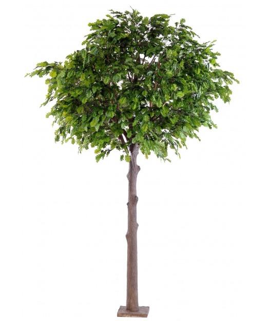 Chêne artificiel tête feuillue 185 cm