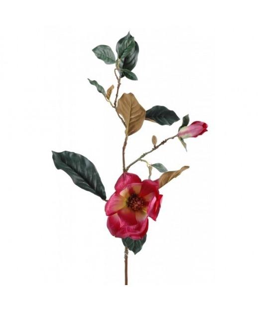 Tige de magnolia artificiel 80 cm