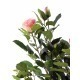Rosier artificiel rose