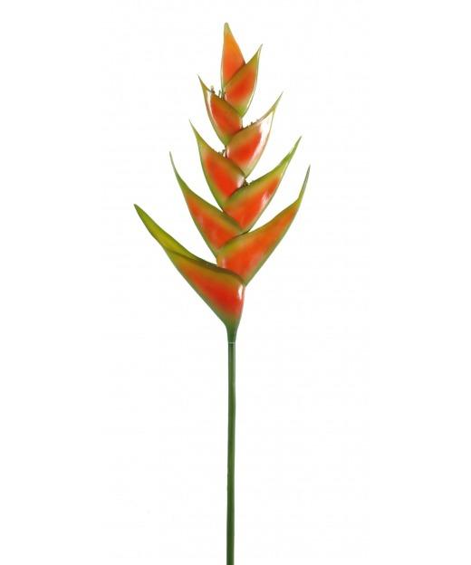 Héliconia artificielle sur tige 100 cm