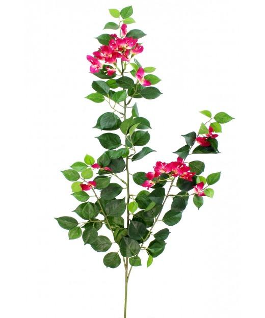 Tige de bougainvillée fleurie 80 cm