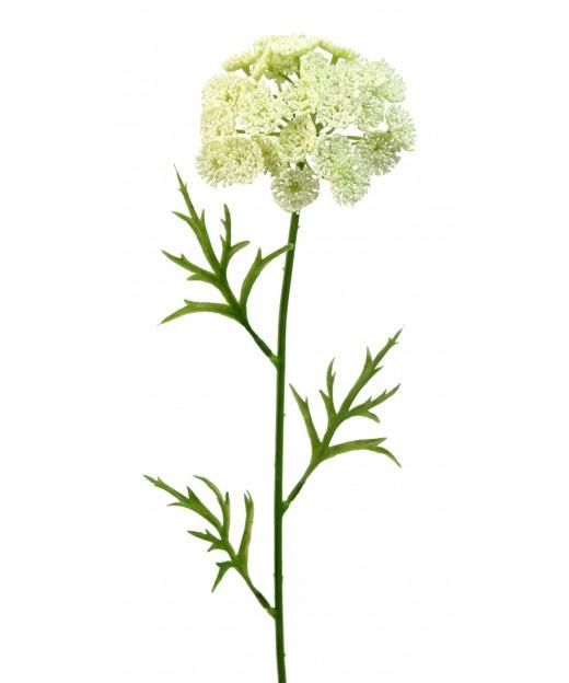 Daucus artificiel blanc 55 cm