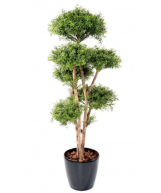 Eucalyptus artificiel à six têtes 160 cm